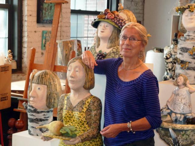 The artist Marja Lianko