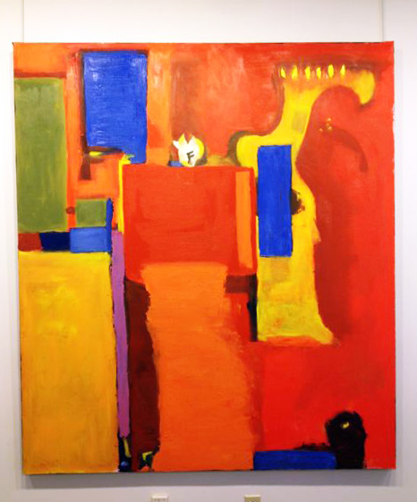 Melanie Houghton: Homage to Hofmann, oil painting