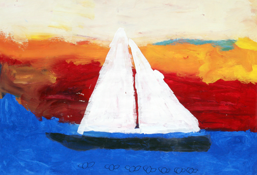 "Visual Voices: ""Sailboat"" by Paul Waisanen"