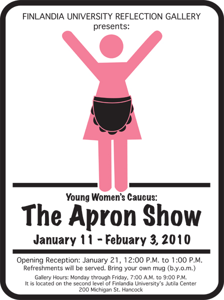 Apron Show Poster