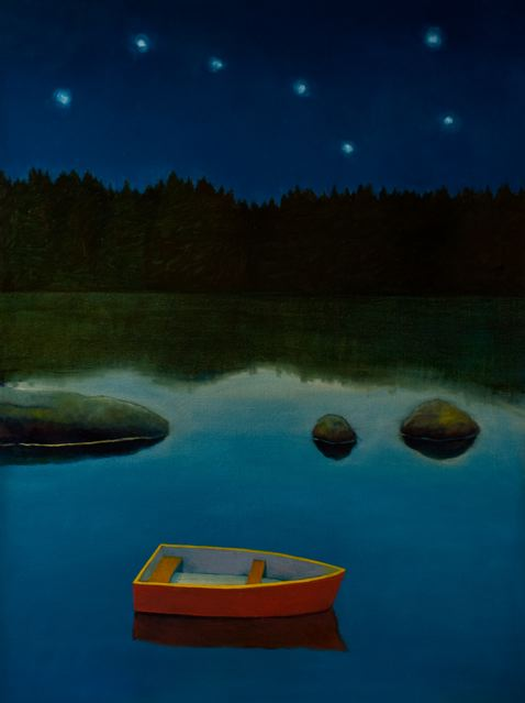 """Boat and Stars"" by Joyce Koskenmaki"