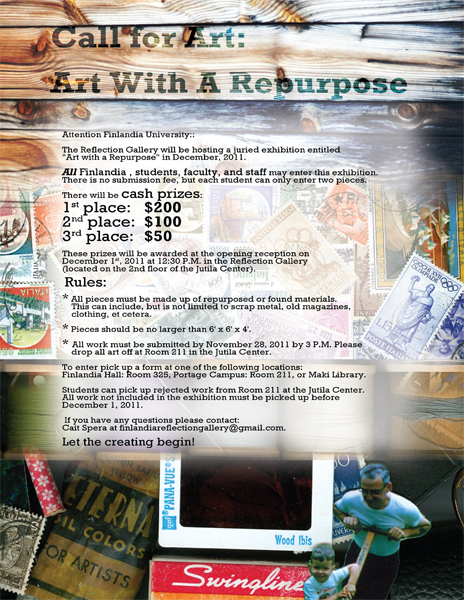 """Art with a Repurpose"" Art"