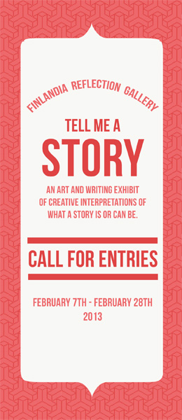 Tell Me A Story: Call for Entries