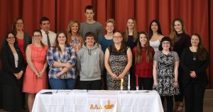 2016 Members of Alpha Lambda Delta Honor Society