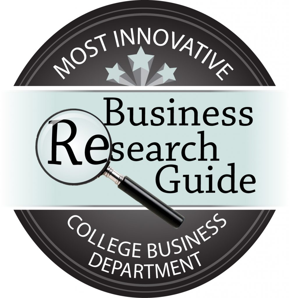 Badge earned for being named one of the Most Innovative College Business Departments
