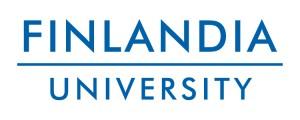 Finlandia Logo Blue White BG