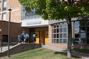 Front of Finlandia Hall