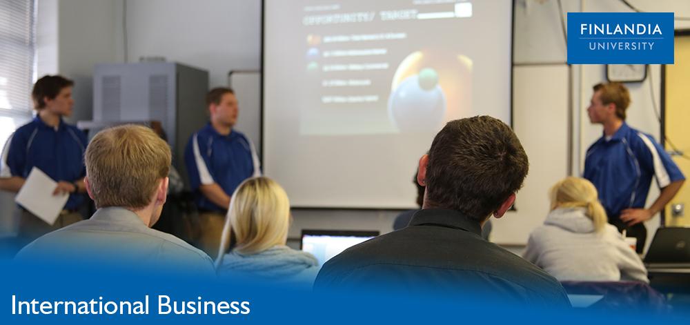 Inernational Business at Finlandia University