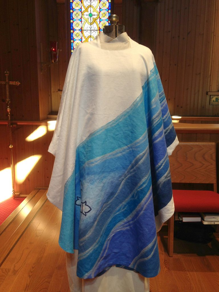 Chasuble and Stole set for Daughters of the King 03