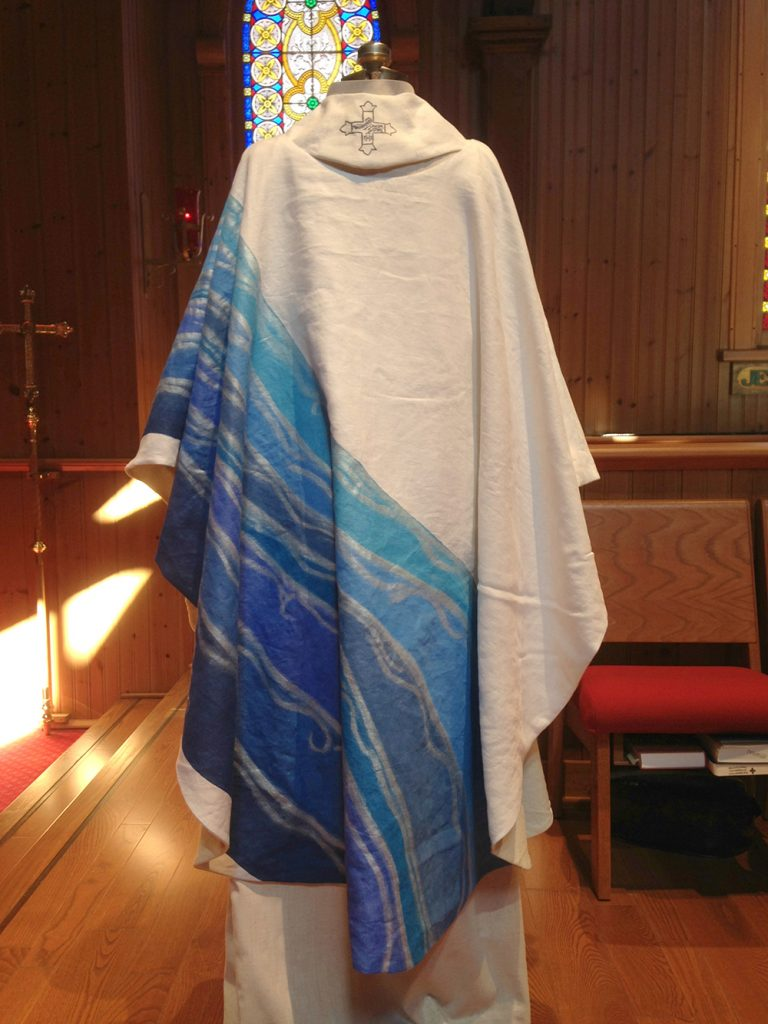 Chasuble and Stole set for Daughters of the King 04