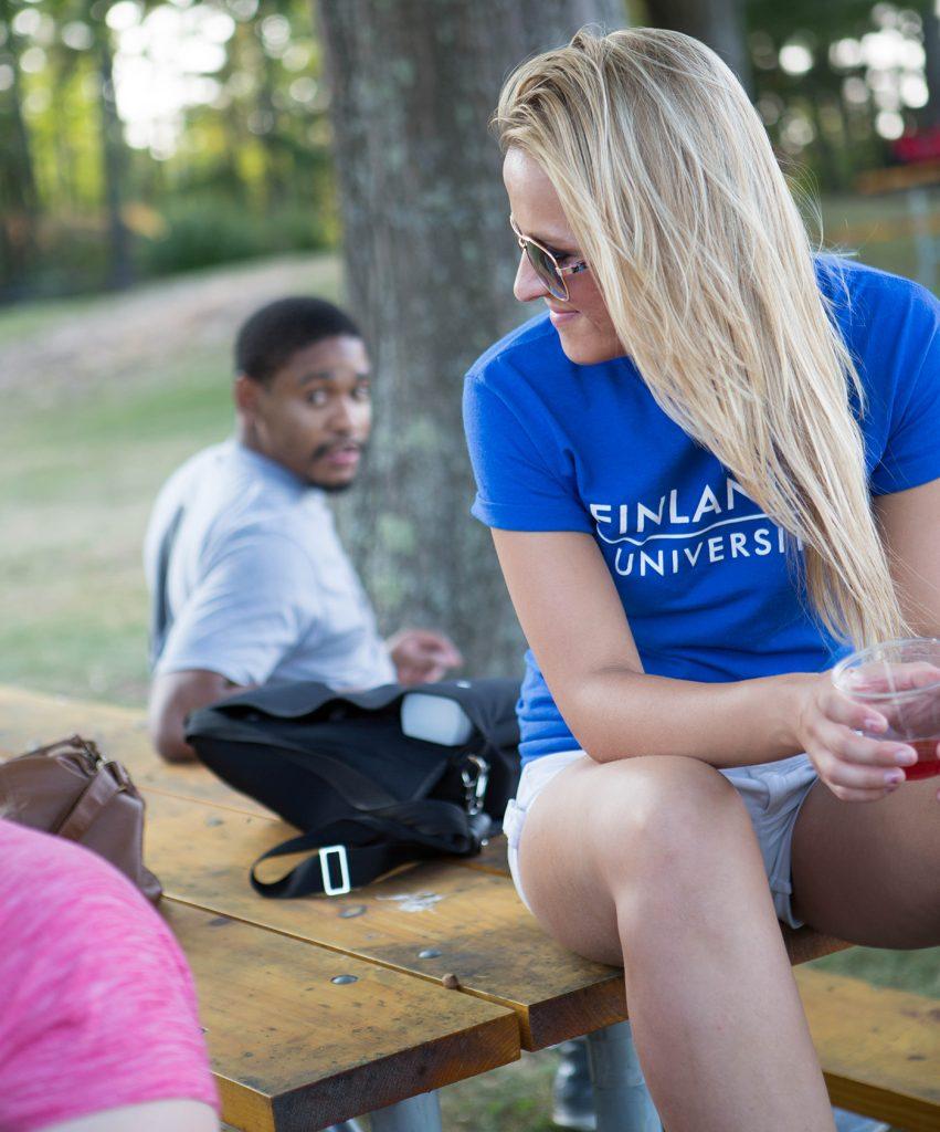 Finlandia Student at Park