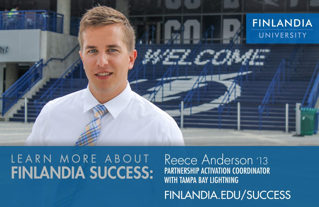 Finlandia Success Reece Anderson