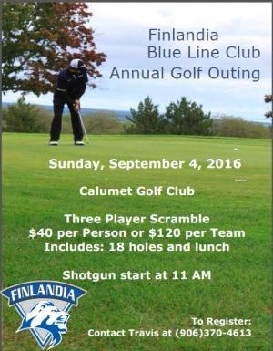 FinnU Golf Tournament 2016