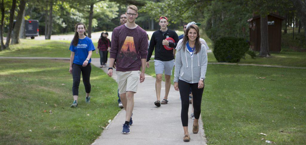 students-mclains-park-walking