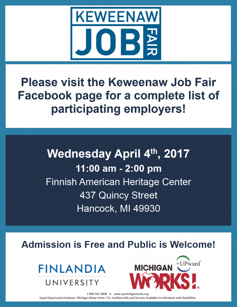 Keweenaw Job Fair