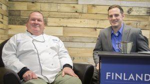 Chef Mark Pittillo on Finlandia Fridays