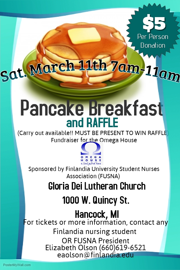 Pancake Breakfast at FinnU