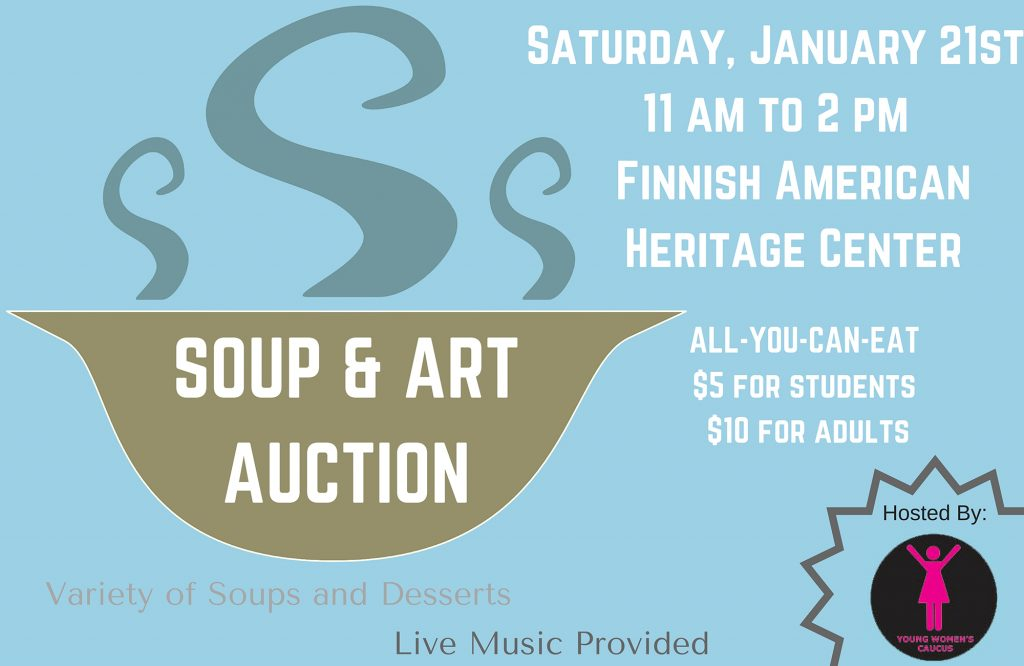 Soup & Art Auction