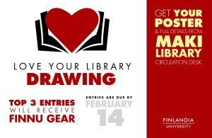 Love Your Library Drawing