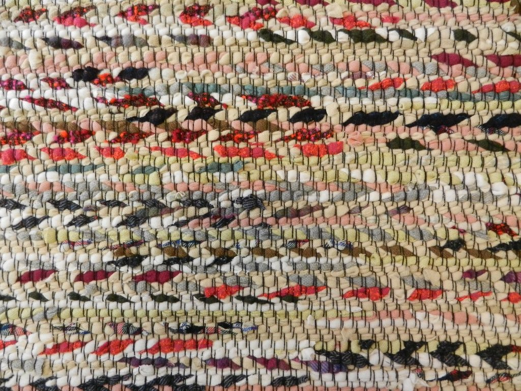 Woven Rug by Phyllis Fredendall