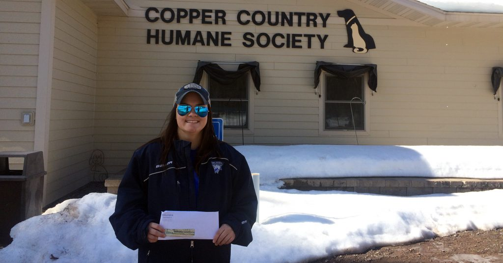 Copper Country Humane Society Donation