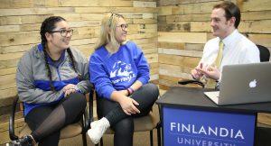 Emily Nguyen and Kassandra Avila Finlandia Fridays