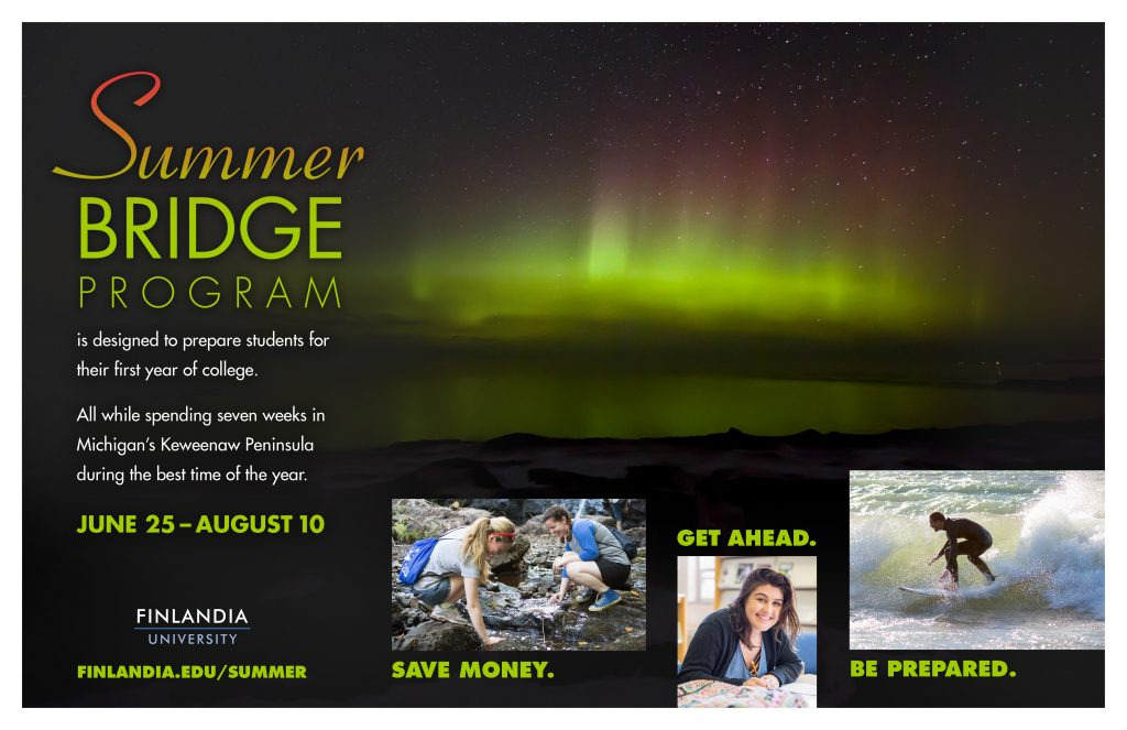 Summer Bridge Program Poster