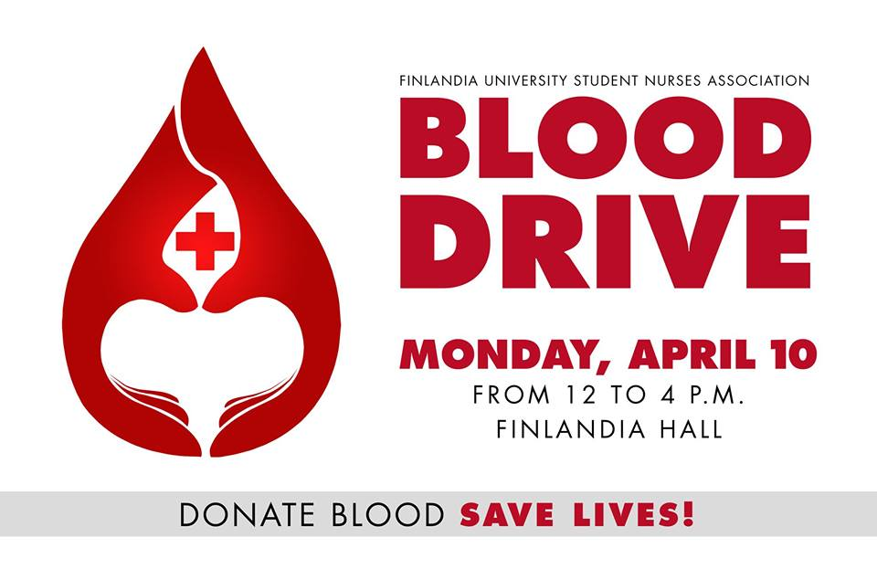 Finlandia Blood Drive brings aid and education to ...