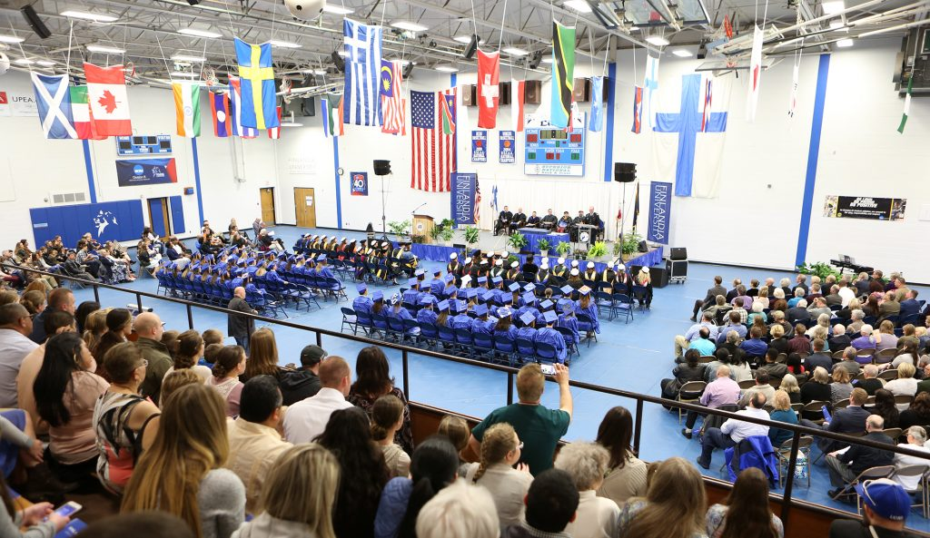 Commencement at Finlandia University 2017