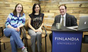 Hailee Johnson and Claudia Youakim on Finlandia Fridays