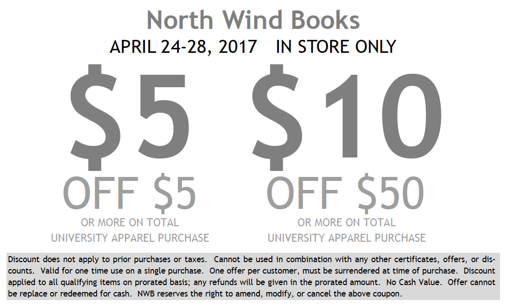 North Wind Books Coupon