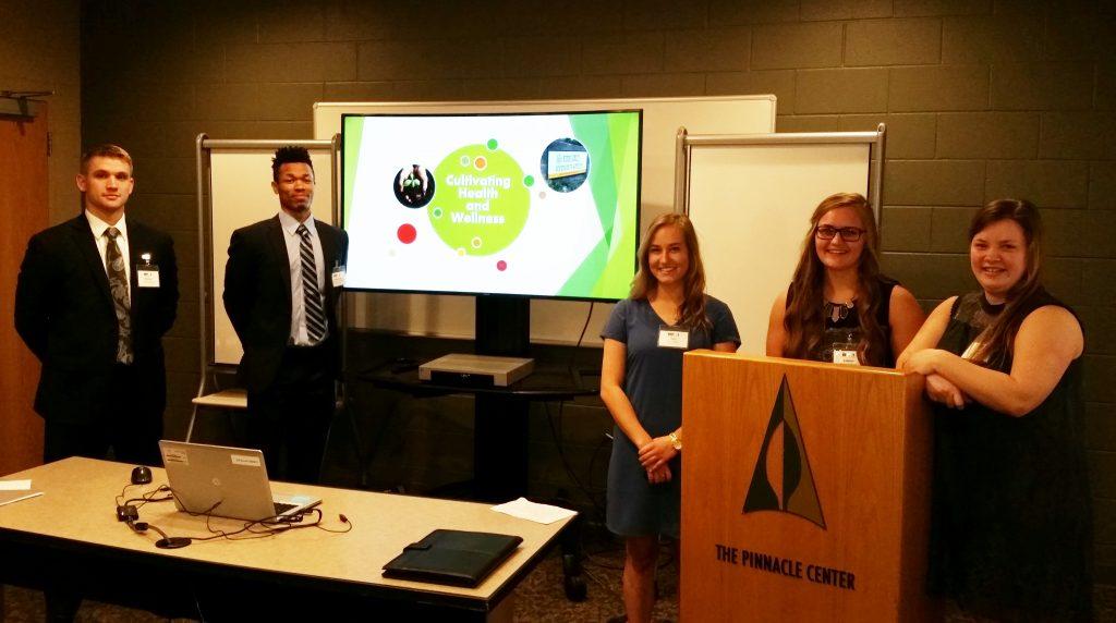 Team SISU at Presentation