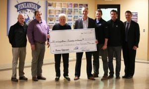Finlandia donation to Houghton County Arena
