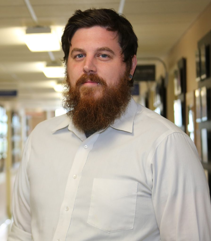 Dylan Evans Weiler at Finlandia University in Michigan