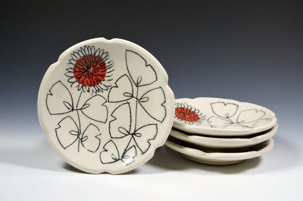 Kristin Pavelka - Dessert plates