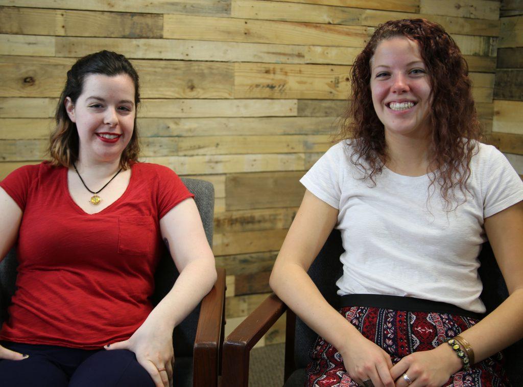 Gina Geliche and Monica Freeman Finlandia Fridays
