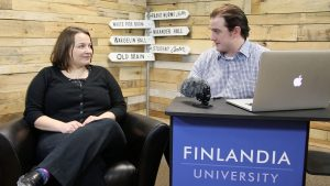 Dr.Hilary Virtanen Finlandia Fridays