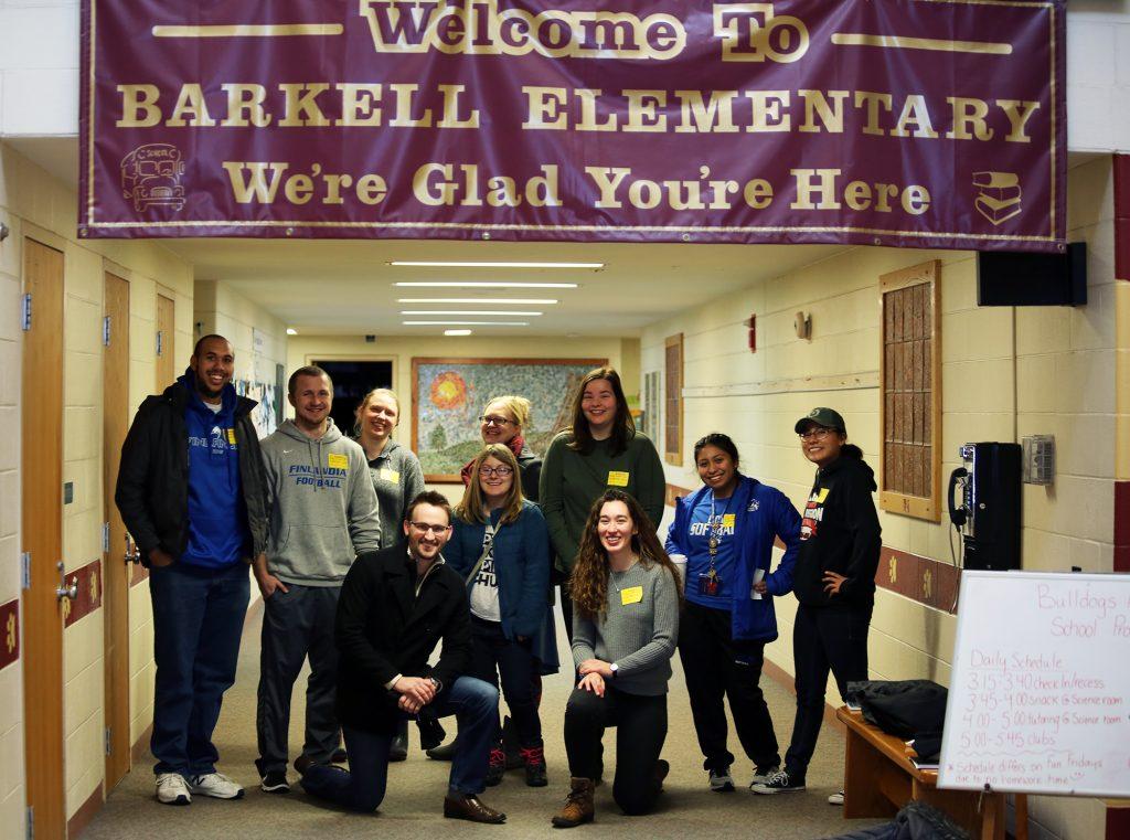 Finlandia students at Barkell Elementary