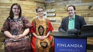 Christina Krider and Rene Johnson Finlandia Fridays