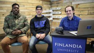 Tyler Browner and Jean Pimentel Finlandia Fridays