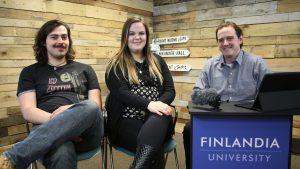 Levi Grannis and Hannah Scott-Moore Finlandia Fridays