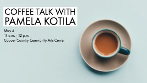 Coffee Talk with Pamela Katila