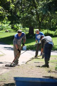 Houghton County flood volunteer