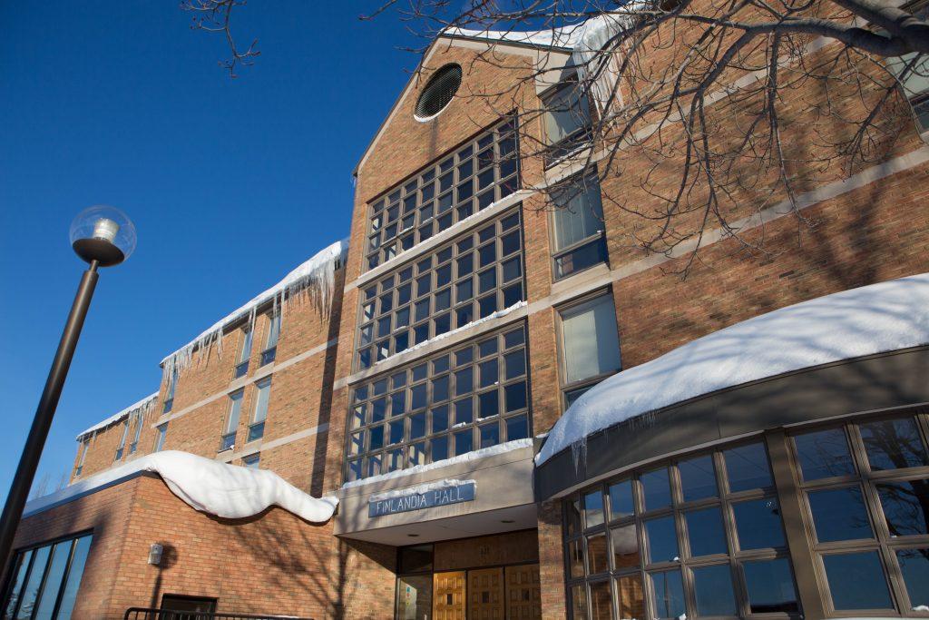 Finlandia Hall in Winter