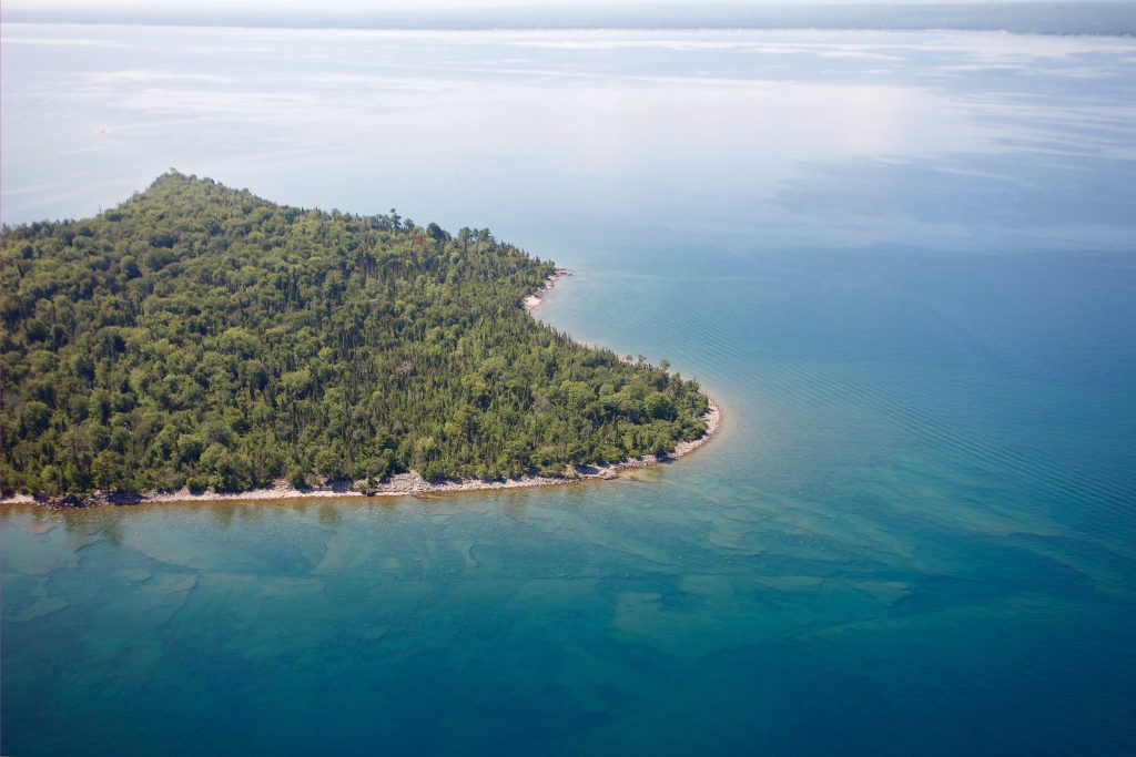 Rabbit Island in Lake Superior