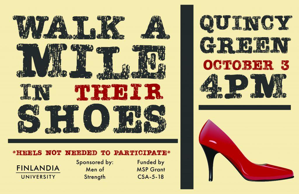 Walk a Mile FinnU event