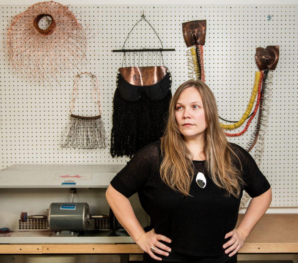 The artist Tia Salmela Keobounpheng