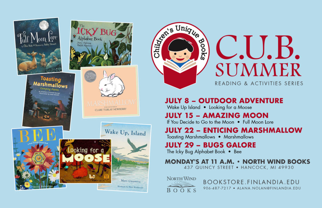 Free Summer Reading and Craft Activities for Kids at Finlandia University