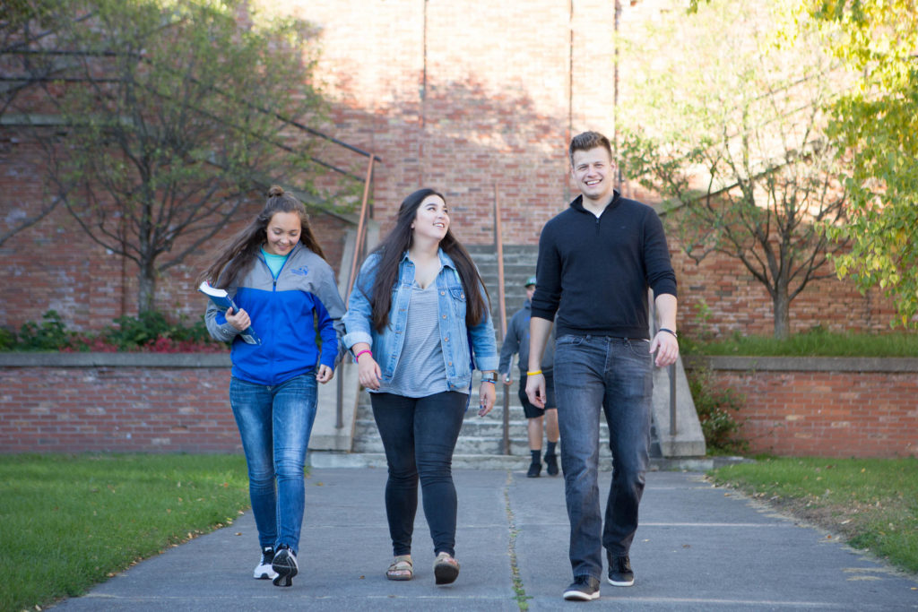 campus tour visit