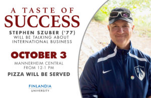 Taste of Success Stephen Szuber